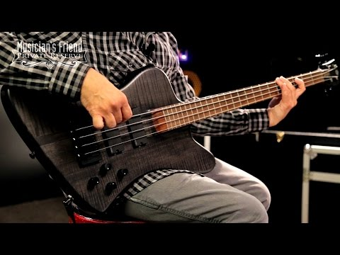 Spector forte 4X Electric Bass Guitar, Matte Black Stain