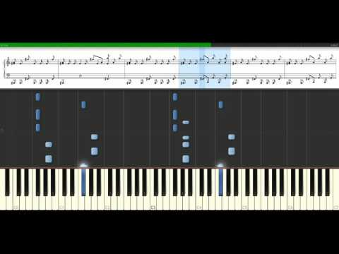 Global Deejays - The sound of San Francisco [Piano Tutorial] Synthesia