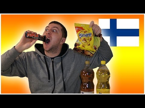 Trying Interesting Snacks From Finland