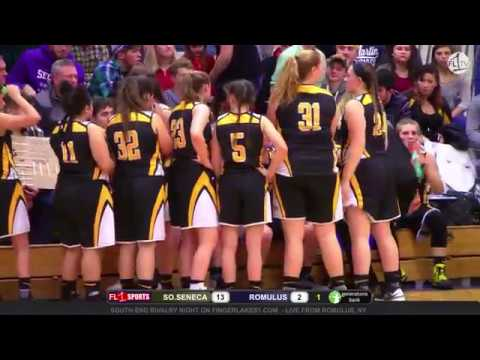 WEBCAST REPLAY: South Seneca Lady Falcons face rival Romulus Lady Warriors on FL1 Sports