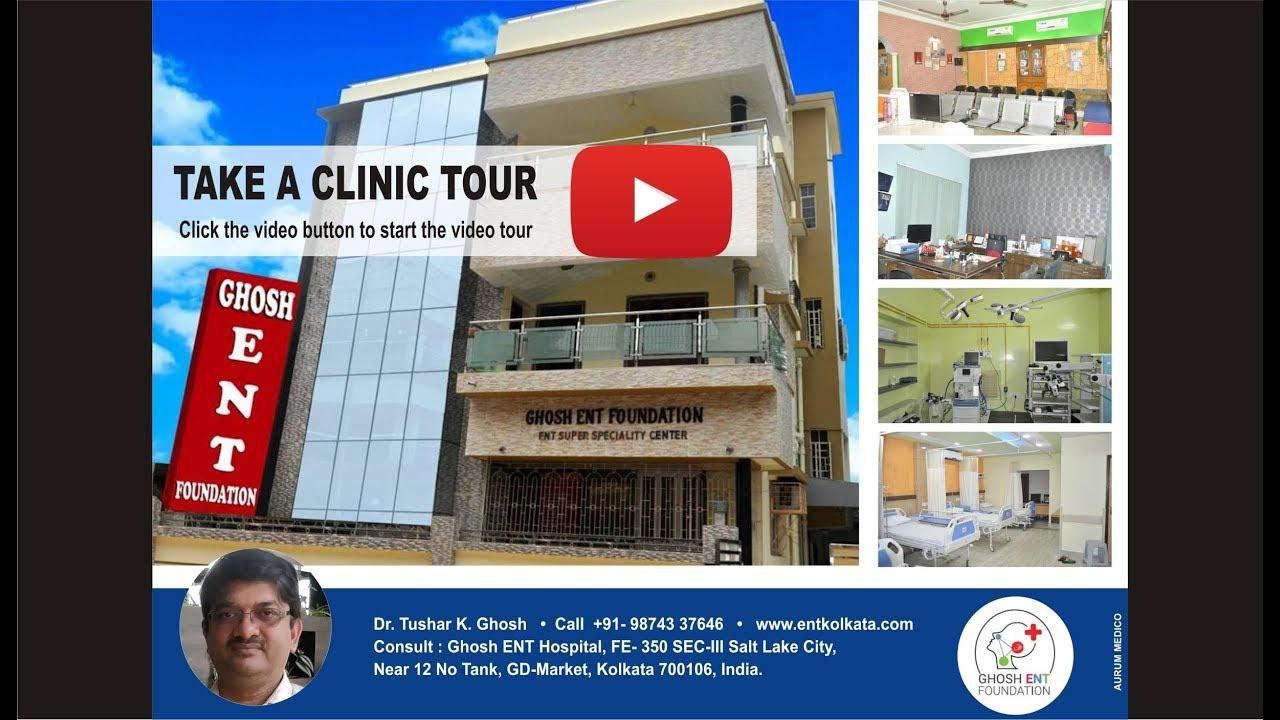 Dr. Tushar Kanti Ghosh  Best ENT Surgeon in Kolkata