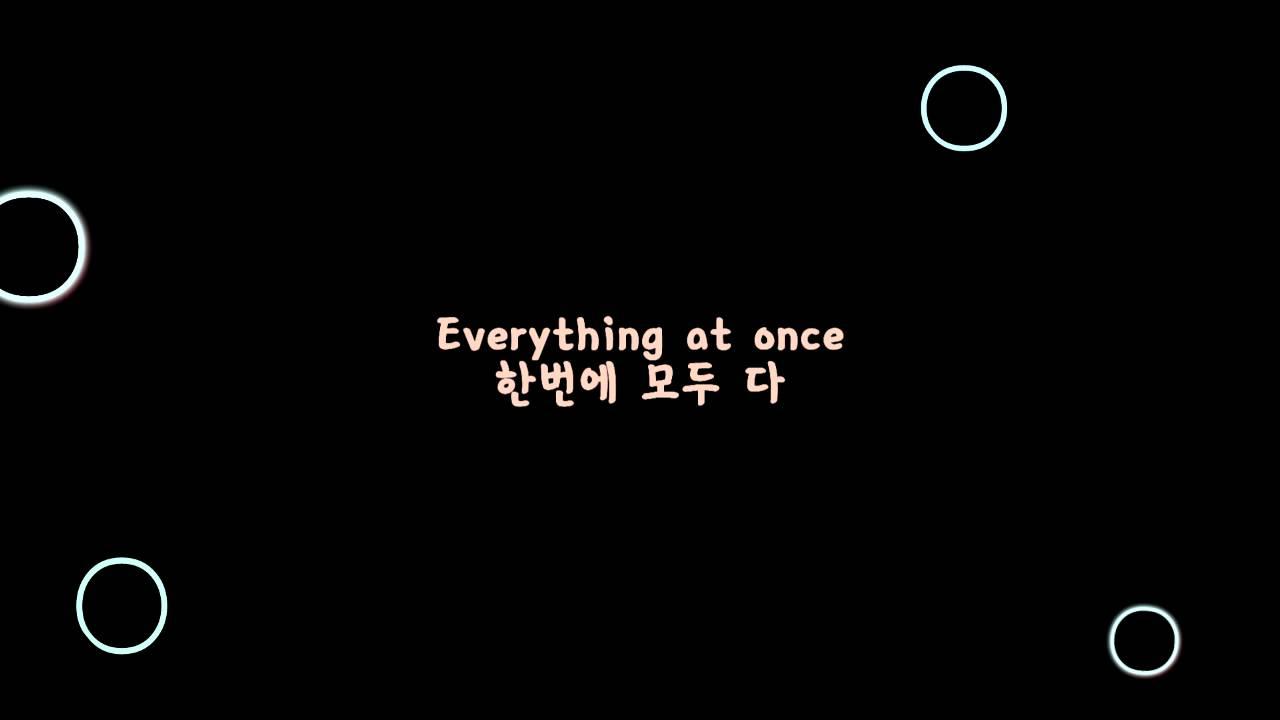 Lenka - Everything At Once 자막 번역 해석 [팝송이야기]