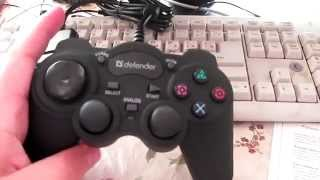 unboxing. Геймпад Defender Game Racer Turbo RS3