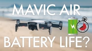 Mavic Air Battery Testing