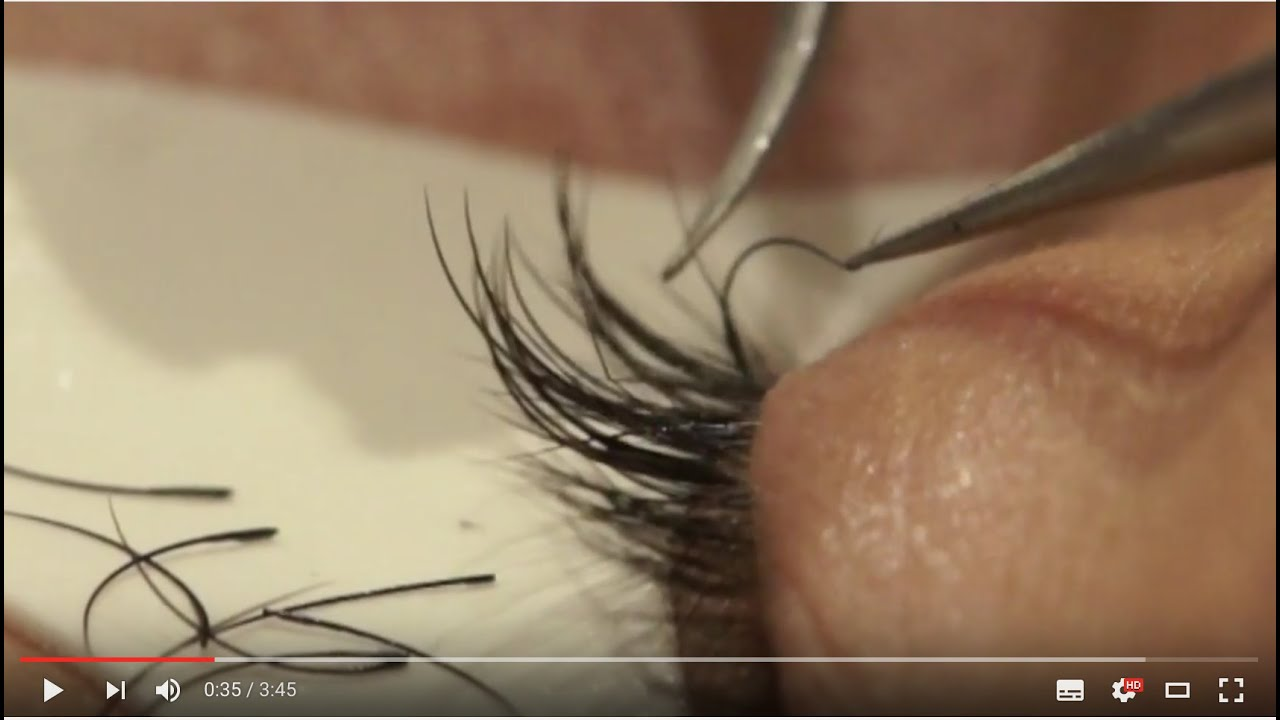 How to remove eyelash extensions - Fast and Effective