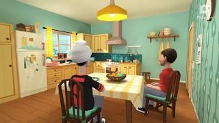Jony jony song, for kids jon's songs /by jk. Nursery kids joni joni Yes pappa song 3D