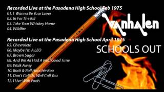 Van Halen - 1975 Pasadena High School