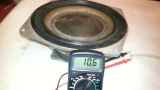 Ремонт і тестування динаміка 75 гдн-1-4 (30гд) з колонки Radiotehnnika S90