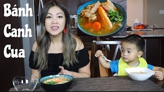 Ăn Bánh Canh Cua Hoàng Đế- King Crab Noodle Soup