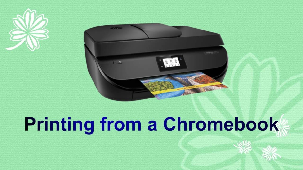 printing from a chromebook youtube