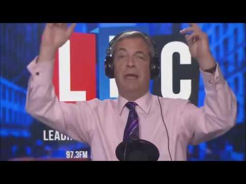 "Nigel Farage ""EU President Juncker is Running Scared after Brexit"""