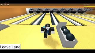 Roblox bowling game