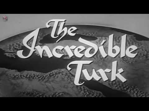 Incredible Turk (1958) film about Mustafa Kemal Ataturk by 20th Century Fox. History of Turkey.