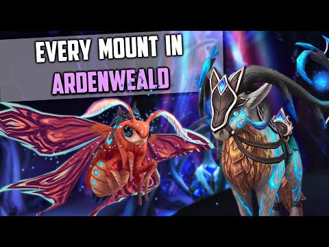 Every Ardenweald Mount and How to Get Them - Shadowlands New Mount Guide