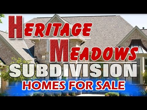 Heritage Meadows Home For Sale Near Heritage Grove Middle School