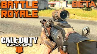 Tryb BATTLE ROYALE - Call of Duty: Black Ops 4 | [Blackout BETA]