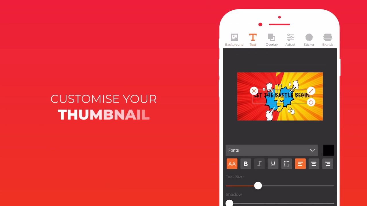 Thumbnail Maker:Youtube Thumbnail & Banner Maker v6 0 (PRO
