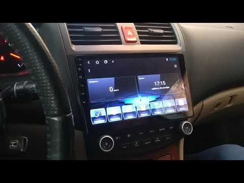 Honda Accord 7 Android штатное головное устройство