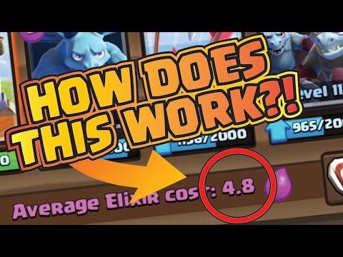 4.8 Average Elixir Deck --- IS IT POSSIBLE? --- Clash Royale
