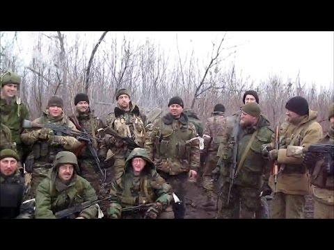 Ополченцы ЛНР перед