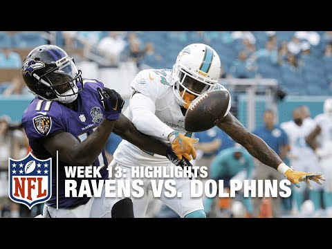 Ravens vs. Dolphins | Week 13 Highlights | NFL