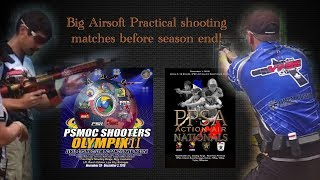 PPSA Action Air Nationals and PSMOC Olympix II Airsoft Sport videos - the epic airsoft matches in PH