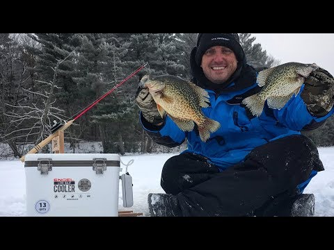 Walleye, Perch, Northern Pike And Crappie {Catch Clean Cook} On The ICE!!!