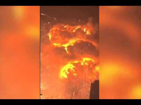 Огненный кошмар - в Сети появилось новое видео мощных взрывов в Китае