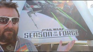 STAR WARS - Season of The Force OPENING DAY - Disneyland