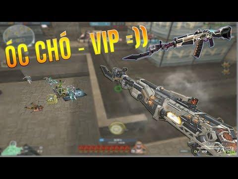 Bình Luận CFQQ : AN-94 Knife-Spaceship (Óc Chó - VIP) ZombiV4-Rùa Ngáo
