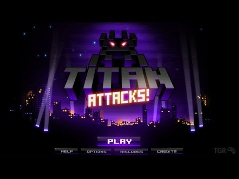 Titan Attacks! PS3/PS4/Vita Gameplay