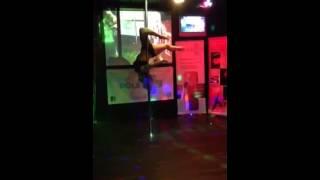 Anna Frost British Isles Pole Dancing Championship 2013