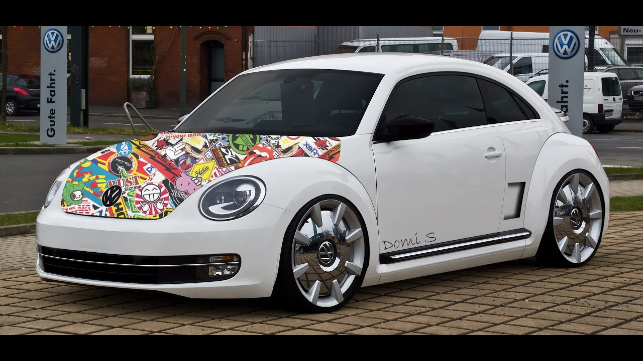 photoshop cc virtual car tuning vw beetle youtube. Black Bedroom Furniture Sets. Home Design Ideas