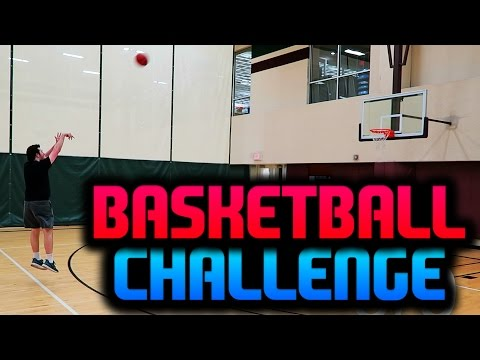 IRL BASKETBALL CHALLENGE!!! 3 POINT SHOOTING CHALLENGE!!!