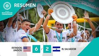 Resumen BSC 2021: Estados Unidos vs El Salvador