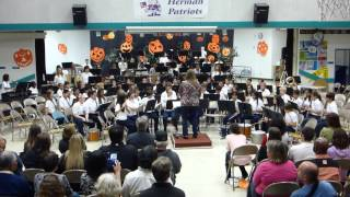 Zombie Stomp - Herman Fall Band Concert 102214 - Beginning Concert Band