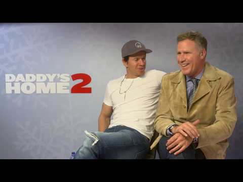 Interview with Mark Wahlberg & Will Ferrell - Daddy's Home 2