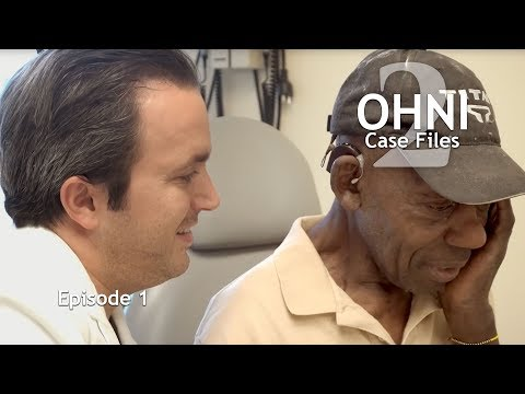 IMPLANT RESTORES DEAF MAN'S HEARING