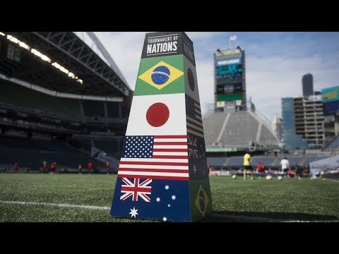 Brazil vs. Japan: Highlights - July 27, 2017