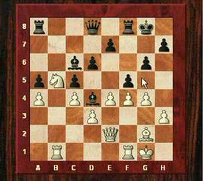 English Opening Botvinnik System  - Chess Game:  T.Gavriel vs M.Pete (Chessworld.net)