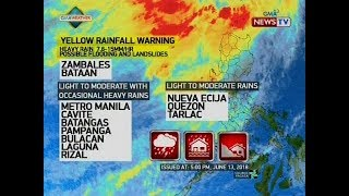 QRT: Weather update as of 5:22 p.m. (June 13, 2018)