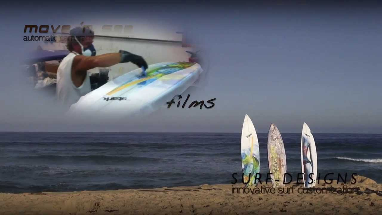 surf designs move n see decoration planche