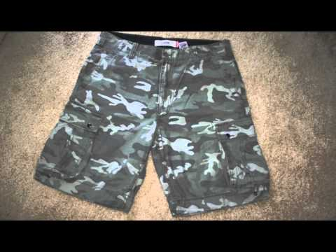 camo-cargo-shorts-for-men-&-women-from-digital-to-green-army-fatigue-camouflage-short-pants