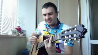 Велосипедист - веселая песня под гитару !!!