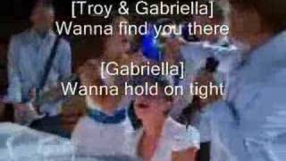 High School Musical 2 - Everyday (with lyrics)