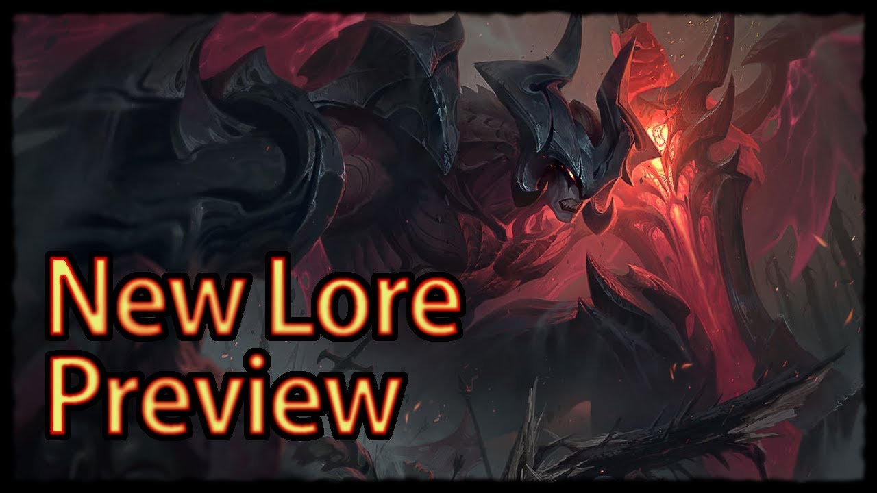 New Lore of Aatrox - Preview