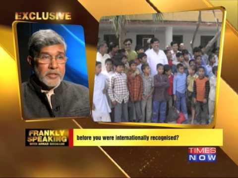 Nobel Peace Prize Winner Kailash Satyarthi speaks his mind