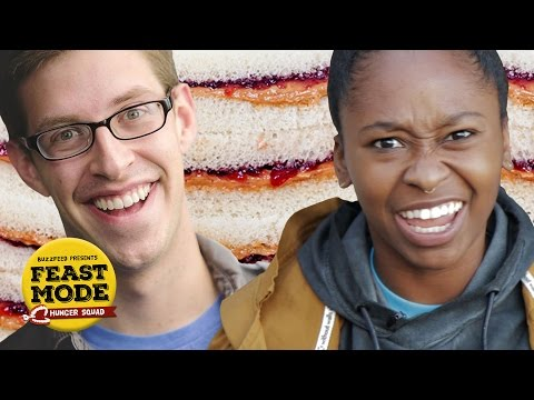 We Tried To Find The  Best PB&J in LA - Feast Mode Hunger Squad