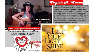 """Coat of Many Colors""  ~  Virginia Werner - Language of Love Telethon  Sunday, October 4, 2020"