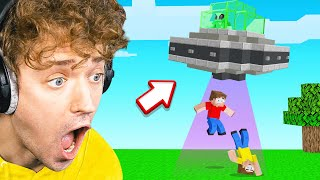 GETTING ABDUCTED In Minecraft!